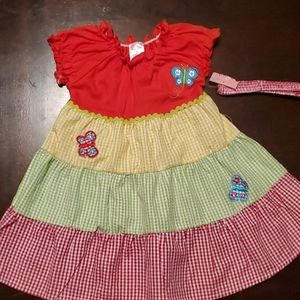 Conley Isle summer dress with matching head band